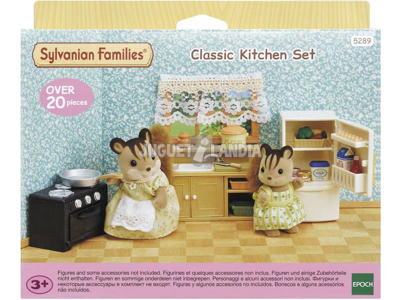 Sylvanian Families Set Cocina Clásica Epoch Para Imaginar 5289