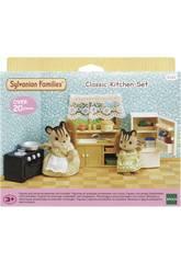 Sylvanian Families Set de Cuisine Classique Epoch d'Enfance 5289