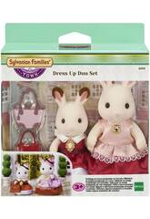 imagen Sylvanian Set 2 Figuren Luxus-Kleider Epoch Für Imagination 6001