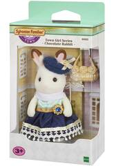 Sylvanian Town Series Girl Big Sister Chocolate Coelho Epoch para Imagine 6002