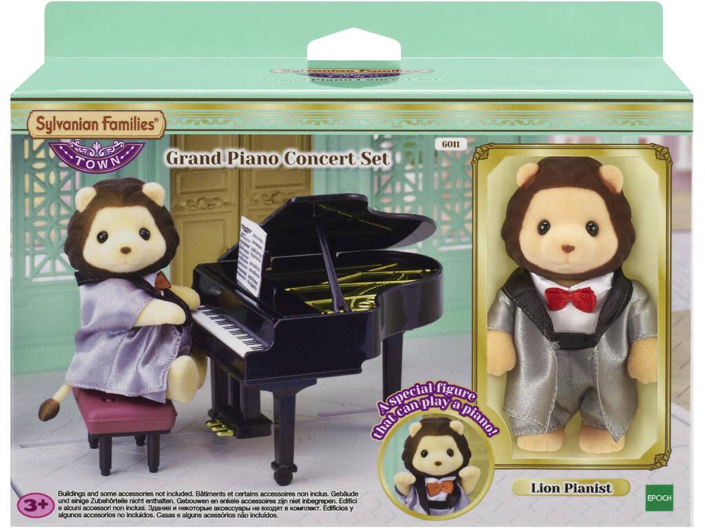 Sylvanian Town Series Definir Concerto Epoch Piano Grande para Imaginar 6011