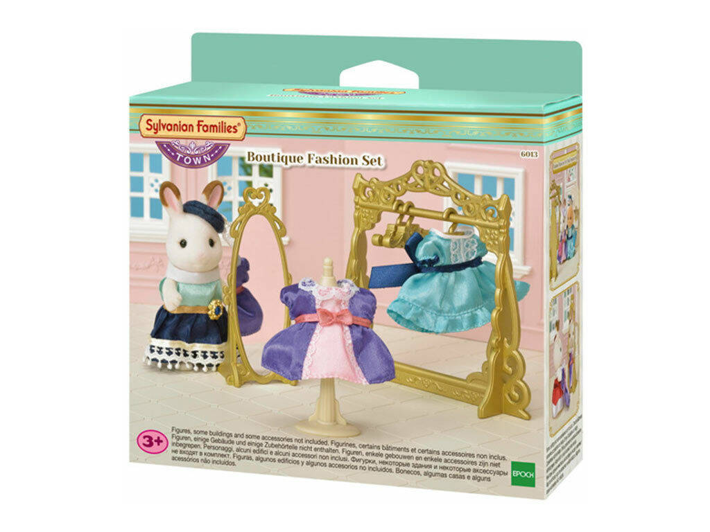 Sylvanian Town Series Set Boutique de Moda Epoch para Imaginar 6013
