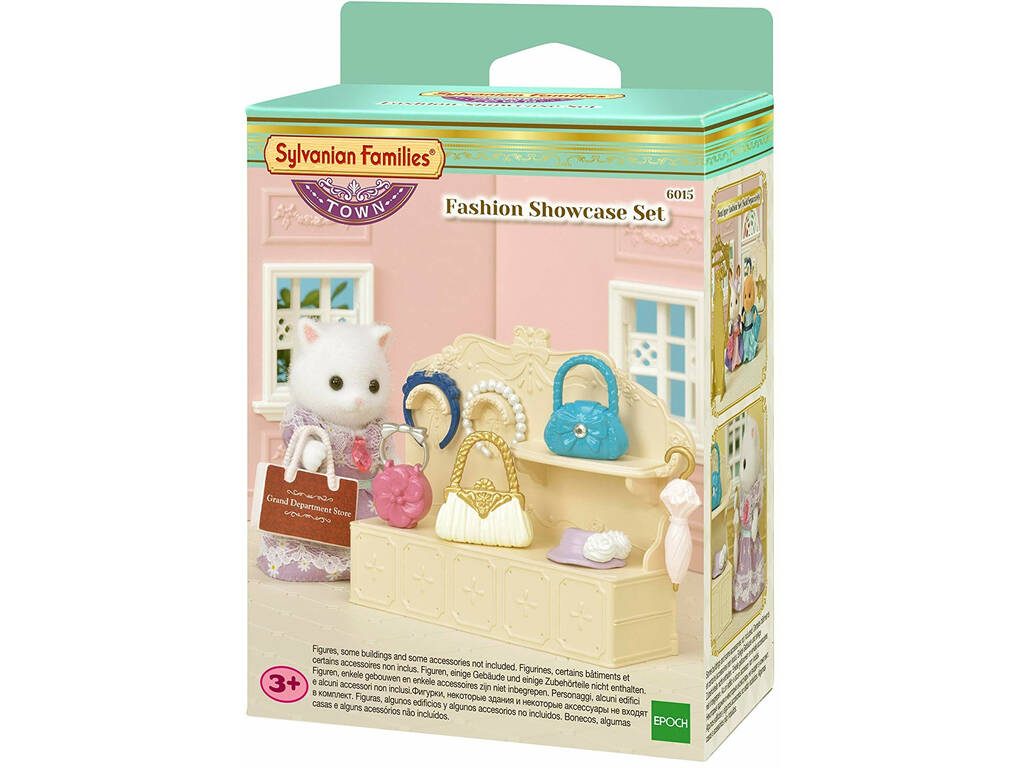 Sylvanian Town Series Set Escaparate de Moda Epoch para Imaginar 6015