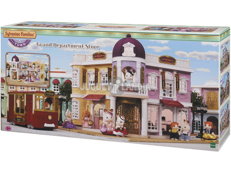 Sylvanian Town Series Loja de departamento Epoch para Imagine 6017
