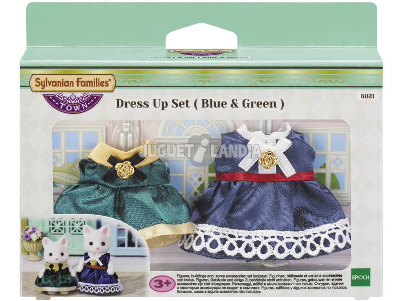 Sylvanian Town Series Set Vestidos Mom Mom e Girl para Imaginar 6021