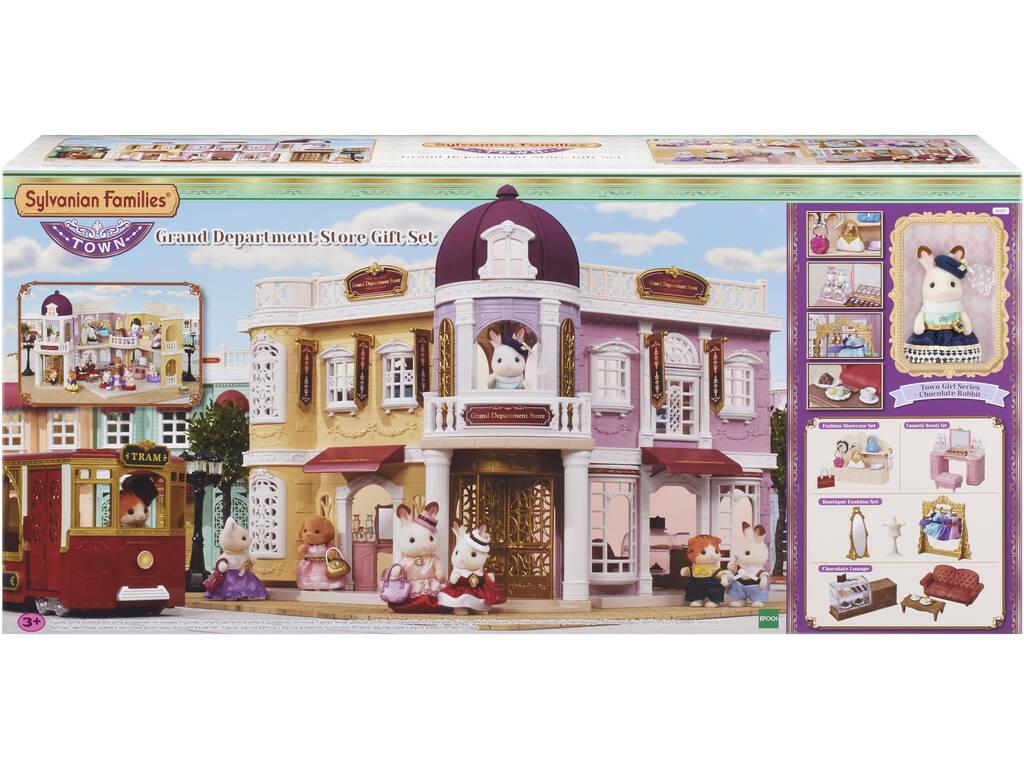 Sylvanian Town Series Lojas de departamento com figura e acessórios Epoch to Imagine 6022