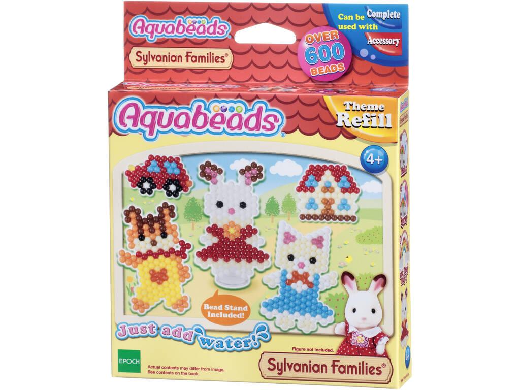 Aquabeads Set Personajes Sylvanian Families Epoch Para Imaginar 31068