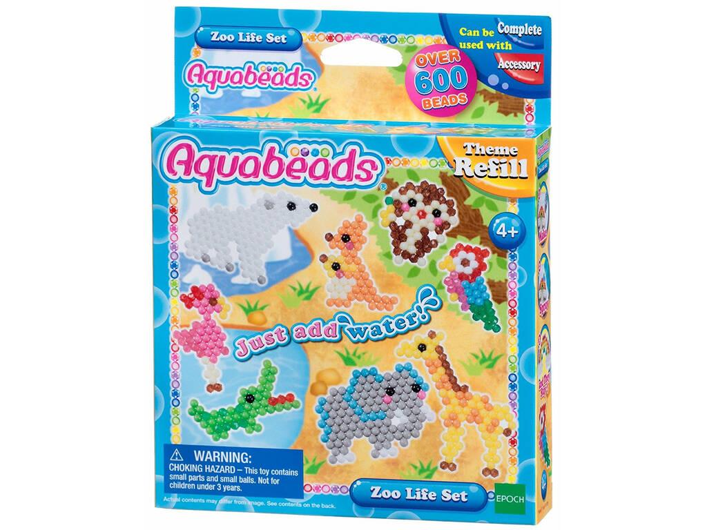 Aquabeads Set del Zoo Epoch Para Imaginar 31078
