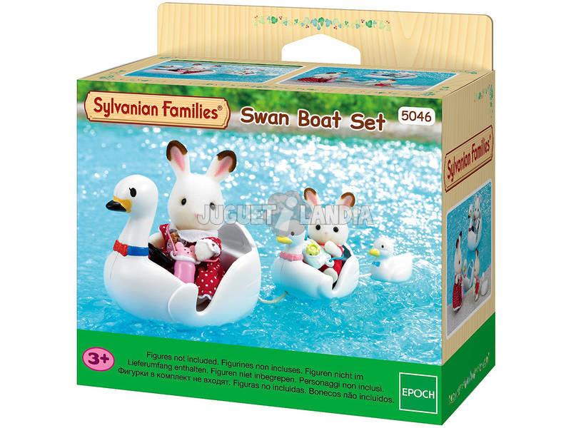 Sylvanian Families Set Barco Cisne Epoch Para Imaginar 5046