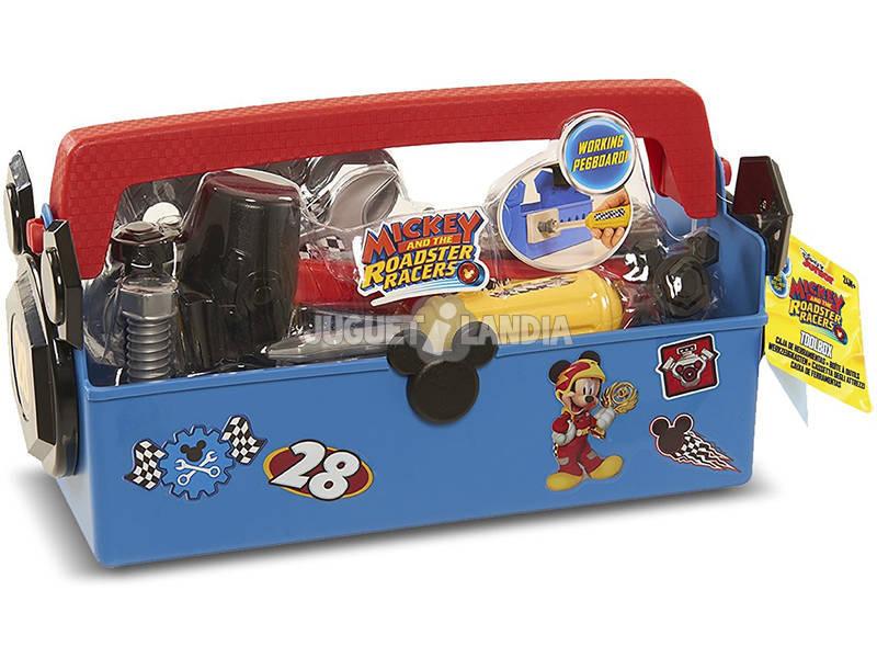 Mickey Mouse Caja Herramientas Mickey y los Supermecánicos IMC Toys 183582