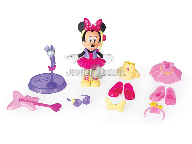 Minnie Muñeca Pop Star IMC Toys 182912