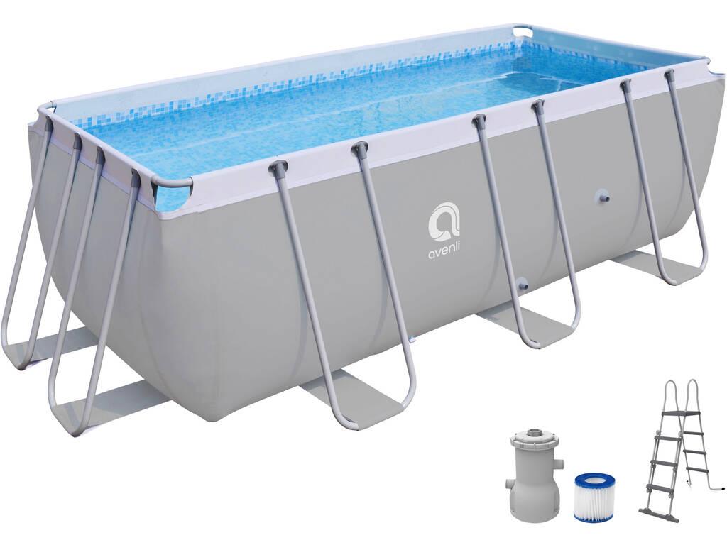 Acheter piscine hors sol 400x207x122 cm jilong 17727eu for Aspirateur piscine hors sol jilong