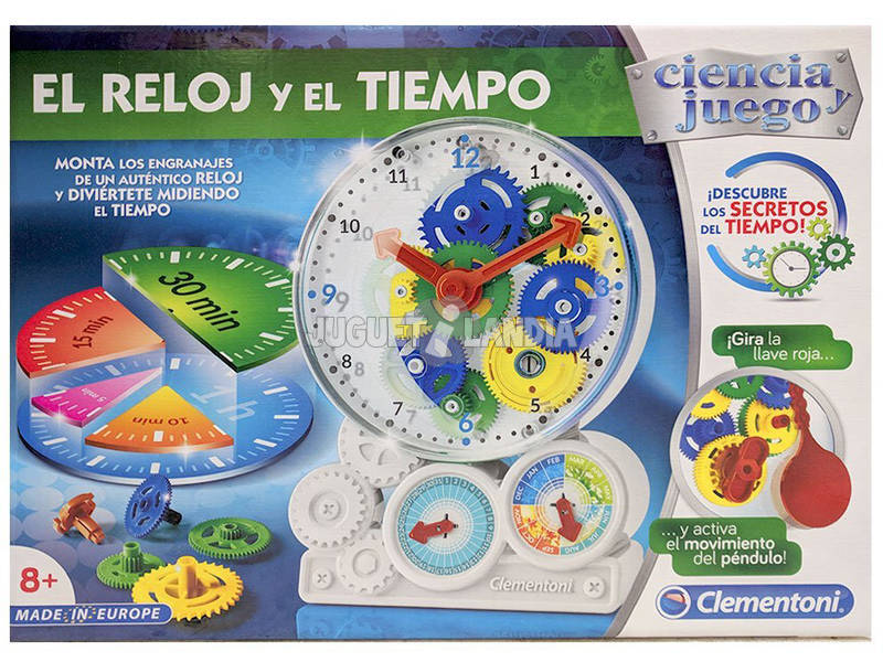 El Reloj y El Tiempo Clementoni 55218