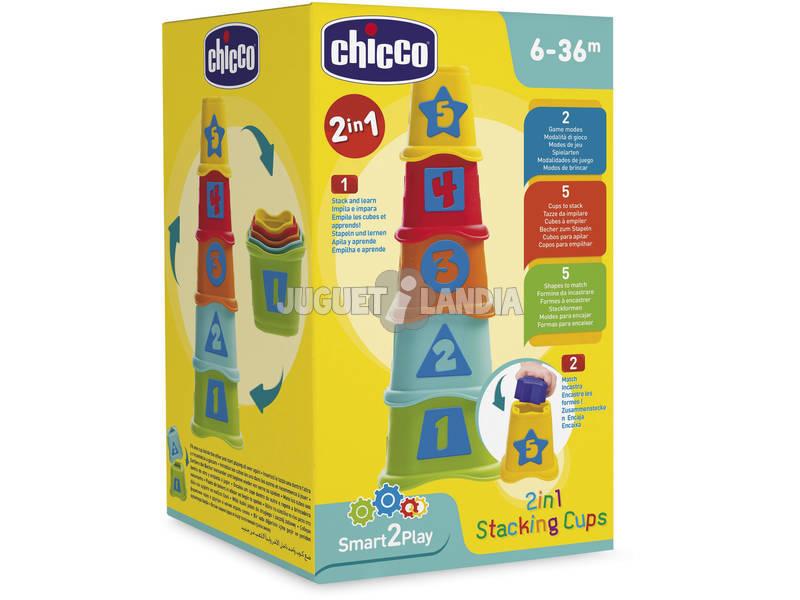 Cubos Apilables 2 en 1 Chicco 9373