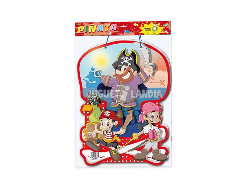 Piñata Piratas Globolandia 5644