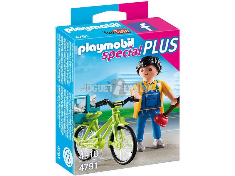Playmobil Idraulico con bici Playmobil 4791