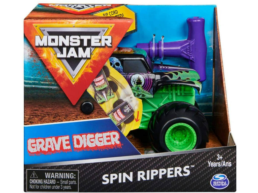 Monster Jam Movimiento y Rugidos 1:43 Bizak 6192 5874