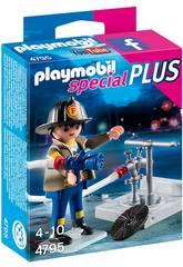 Playmobil Bombero y Manguera