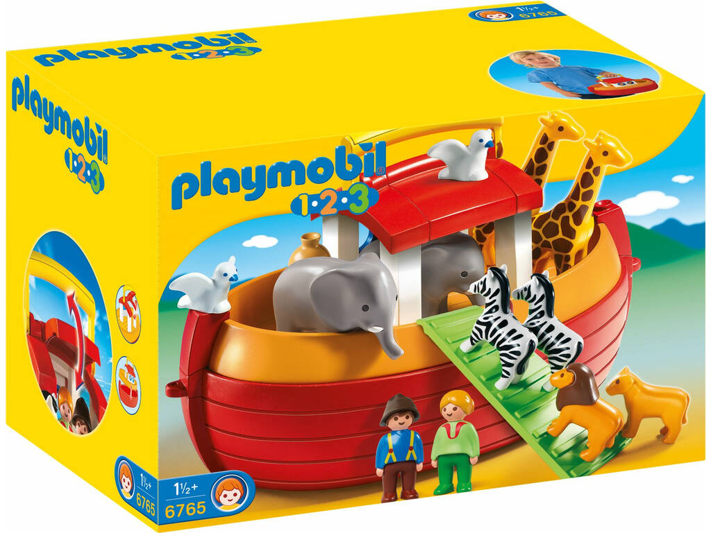 Playmobil 1.2.3 arca de maleta Noe