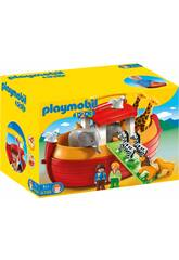 Playmobil 1.2.3 Koffer Noe's Arch