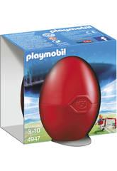 Playmobil Futbolista con Portería