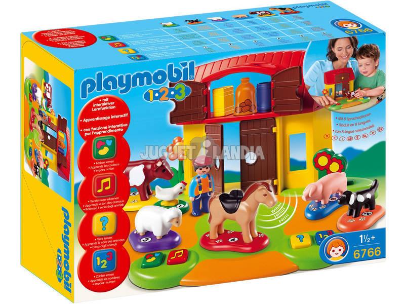 Playmobil 1.2.3 La Granja Interactiva