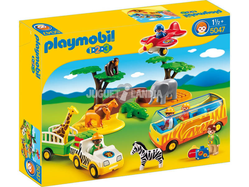 Playmobil 1.2.3 Gran Safari Africano