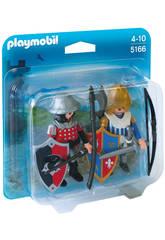 Playmobil Duopack Cavaleiros 5166