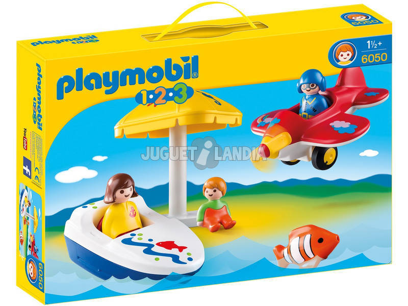 Playmobil 1.2.3 Diversion en Vacaciones 6050
