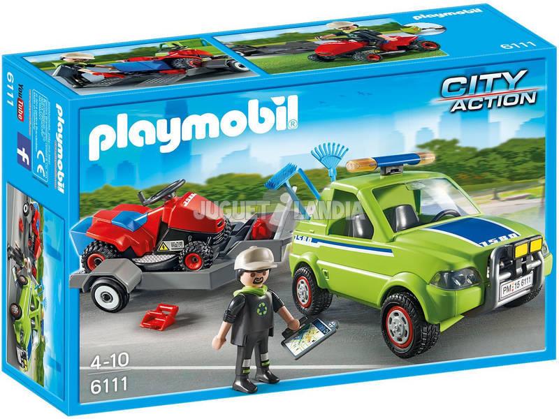 Playmobil Unità Manutenzione Parchi e Giardini