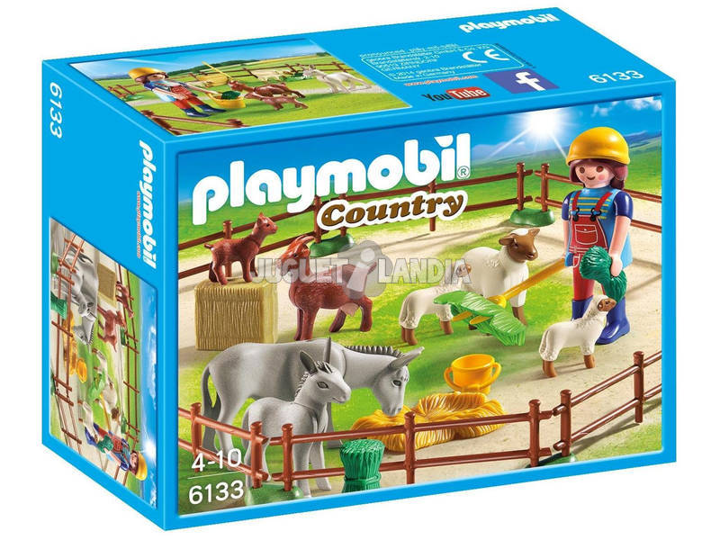 Playmobil Recinto degli animali 6133