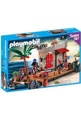Playmobil Superset Fuerte Pirata
