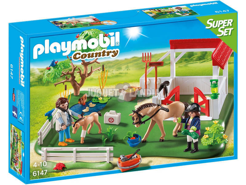 Playmobil Superset Prado de Caballos