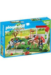 Playmobil Superset Prado de Caballos