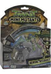 Tortugas Ninja Mini 2 Figuras Paracaidistas