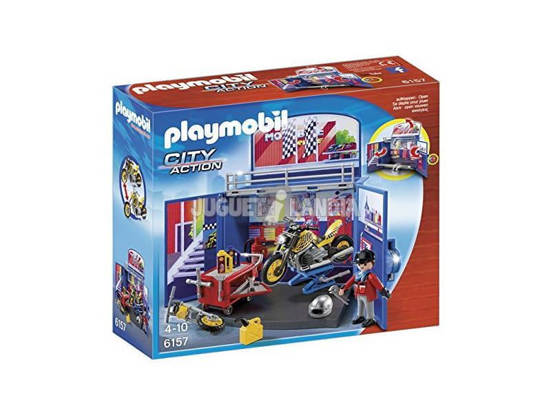 Playmobil Scrigno Meccanico delle Moto