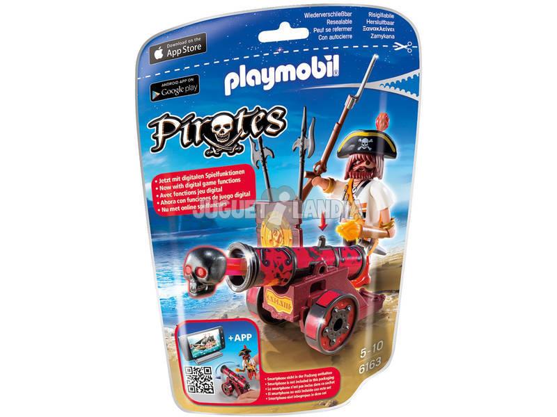 PlaymobilCanhão Interactivo Vermelho com Pirata