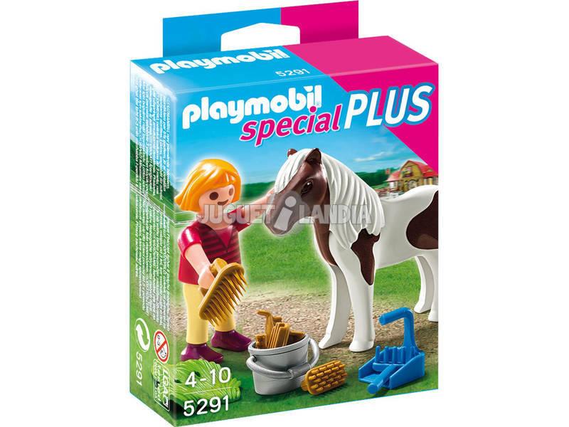 Playmobil Ragazza con Pony