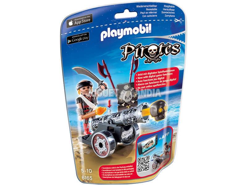 Playmobil Cañon Interactivo Negro con Corsario