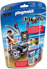 Playmobil Pirates Pirata con App-Cannon