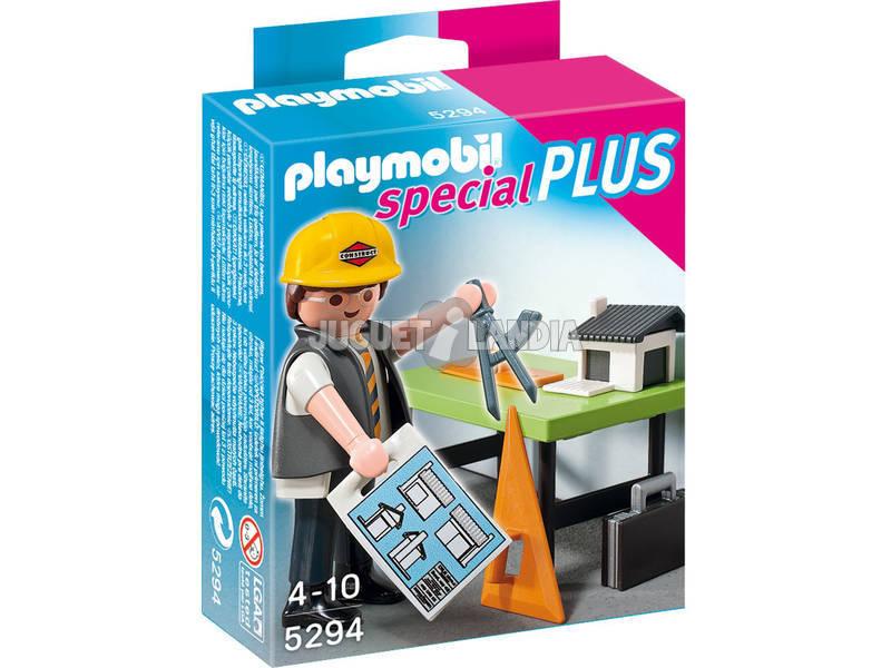 Playmobil Arquitecto Con Mesa De Trabajo