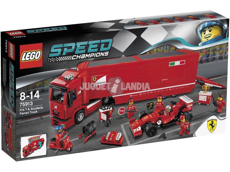 Lego Speed Champions Camion trasportatore F14 T e Scuderia Ferrari