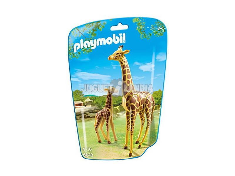 Playmobil Girafa com Bebé