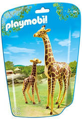 Playmobil Girafe avec Petit