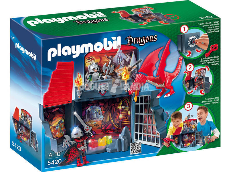 Playmobil Guarida Del Dragon