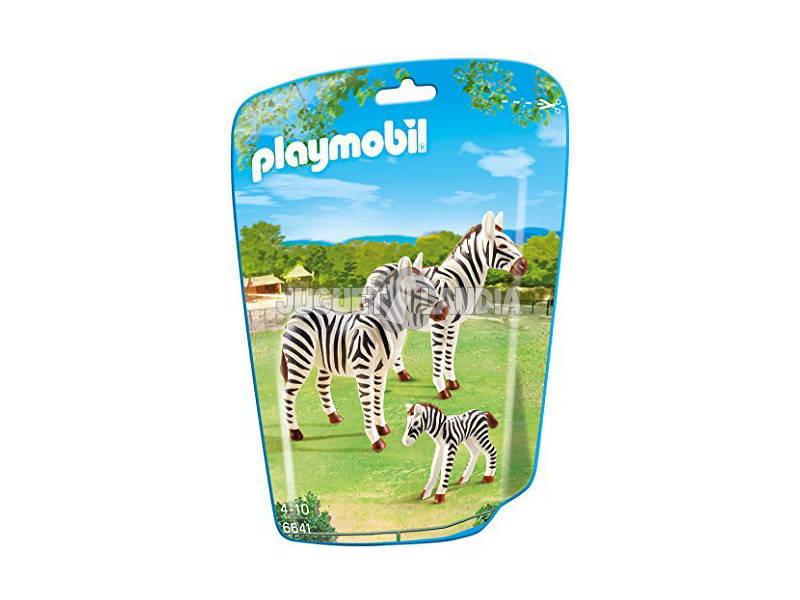 Playmobil Familia de Zebras