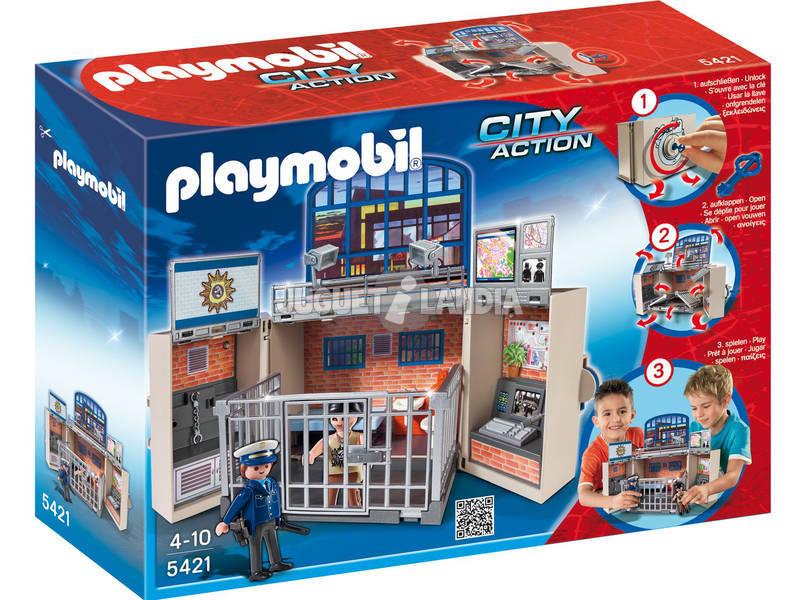 Playmobil Cuartel De Policia