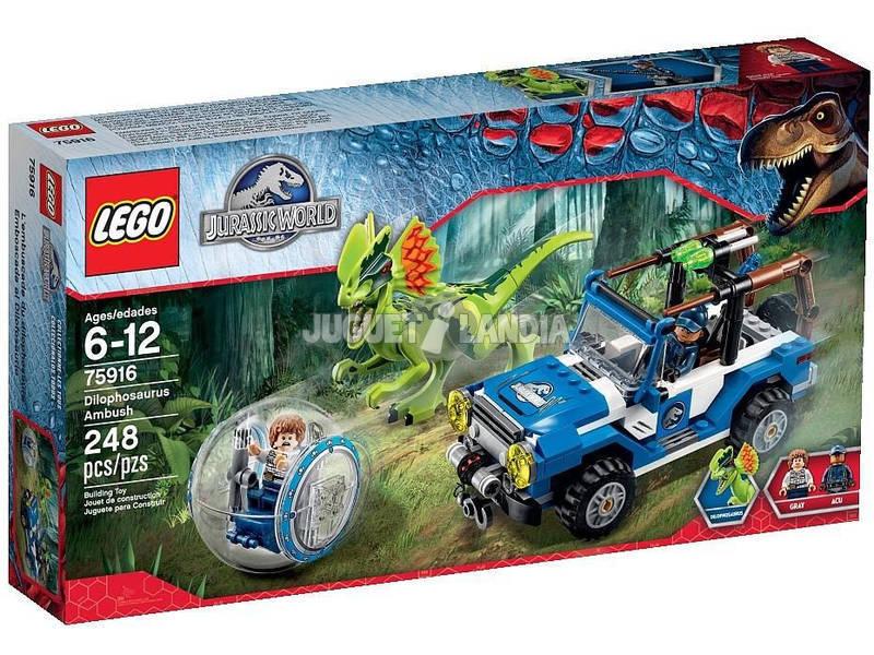 Lego Jurassic World L'embuscade du Dilophosaure