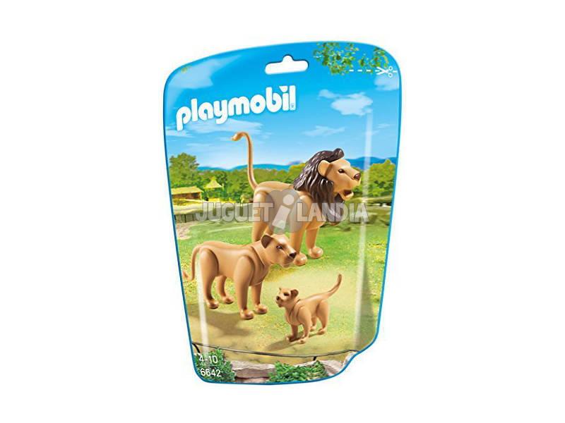 Playmobil Familia de Leones 6642