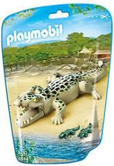 Playmobil Alligator avec Bébés